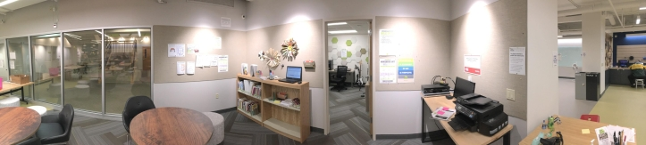panoramic image of idea studio